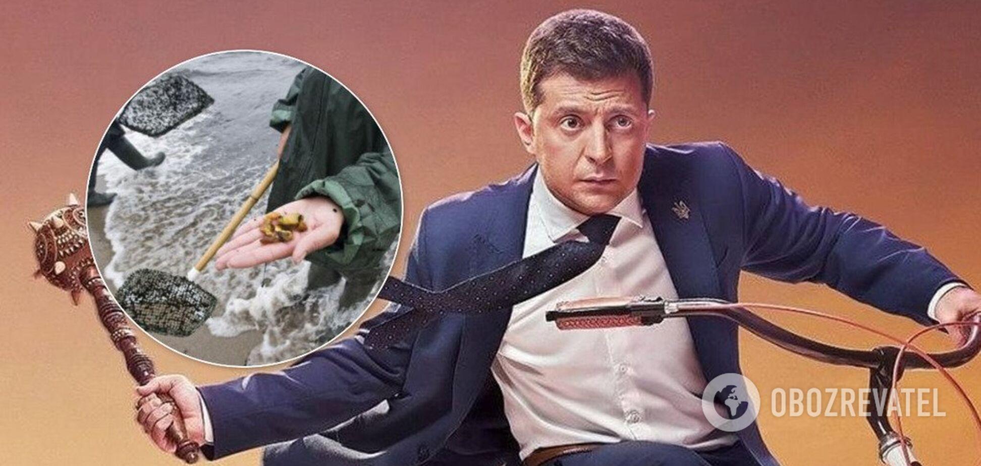 Зеленский приехал на разборки с янтарной мафией: полное видео