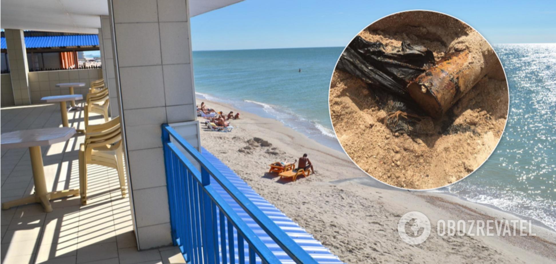 У Кирилівці каналізацію зливають в море