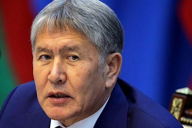 Колишній президент Киргизстану Алмазбек Атамбаєв
