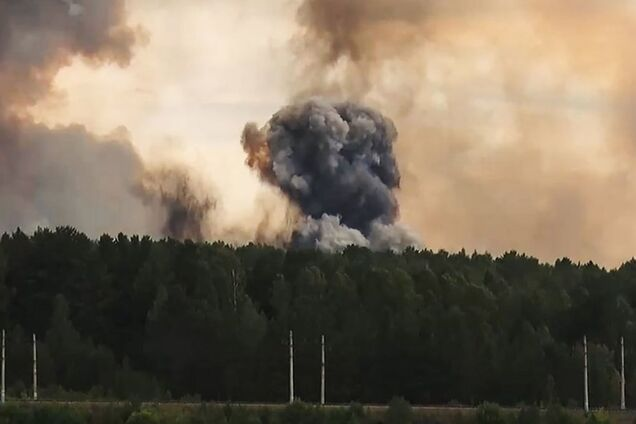 Взрыв под Архангельском