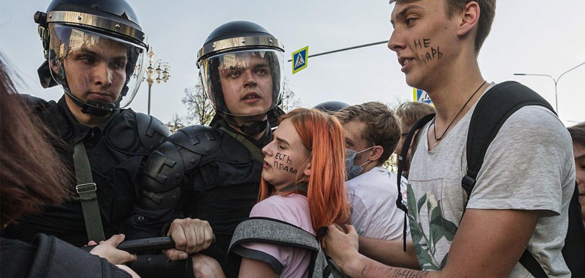 Протесты в России. Источник: РБК