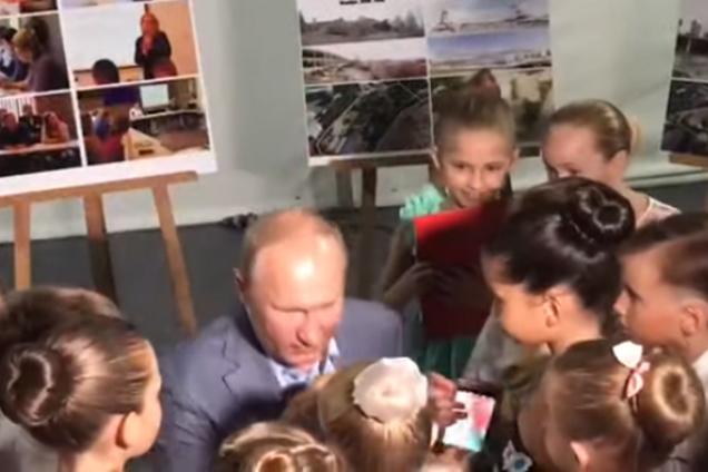 Володимир Путін із дітьми