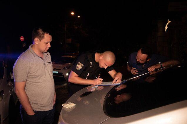 У Києві спіймали авто з п'яними чоловіками