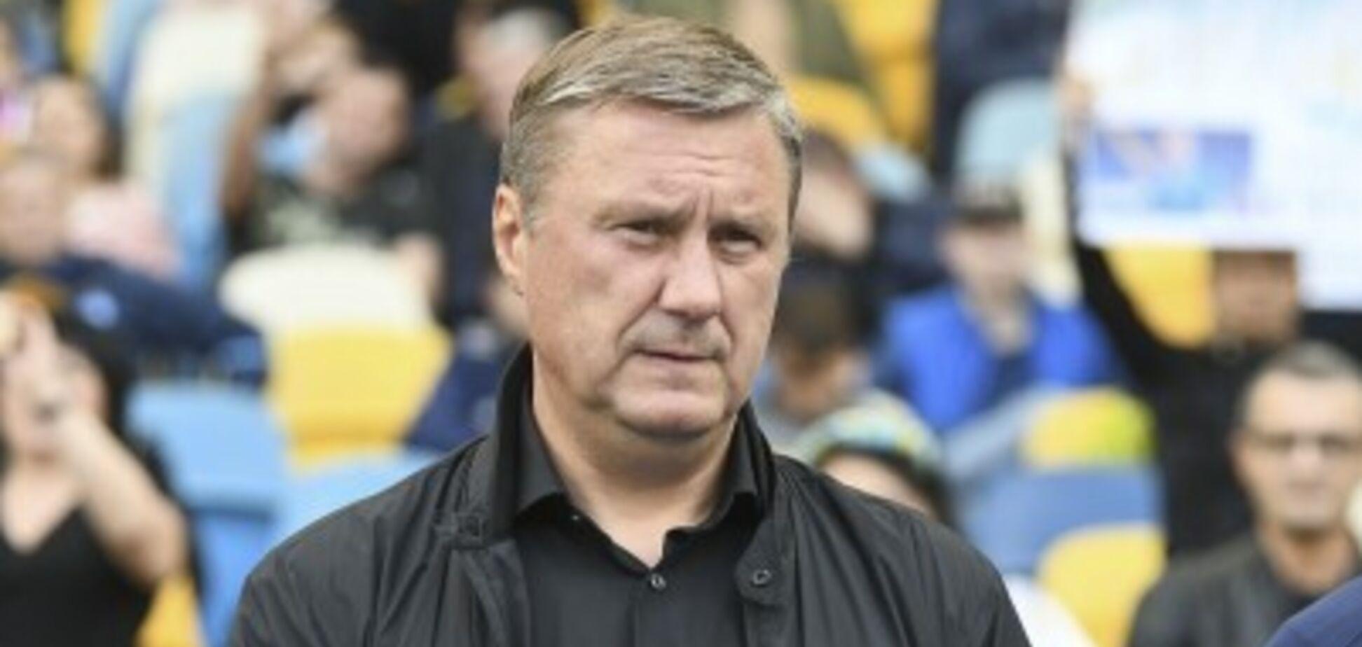 Офіційно: 'Динамо' звільнило Хацкевича