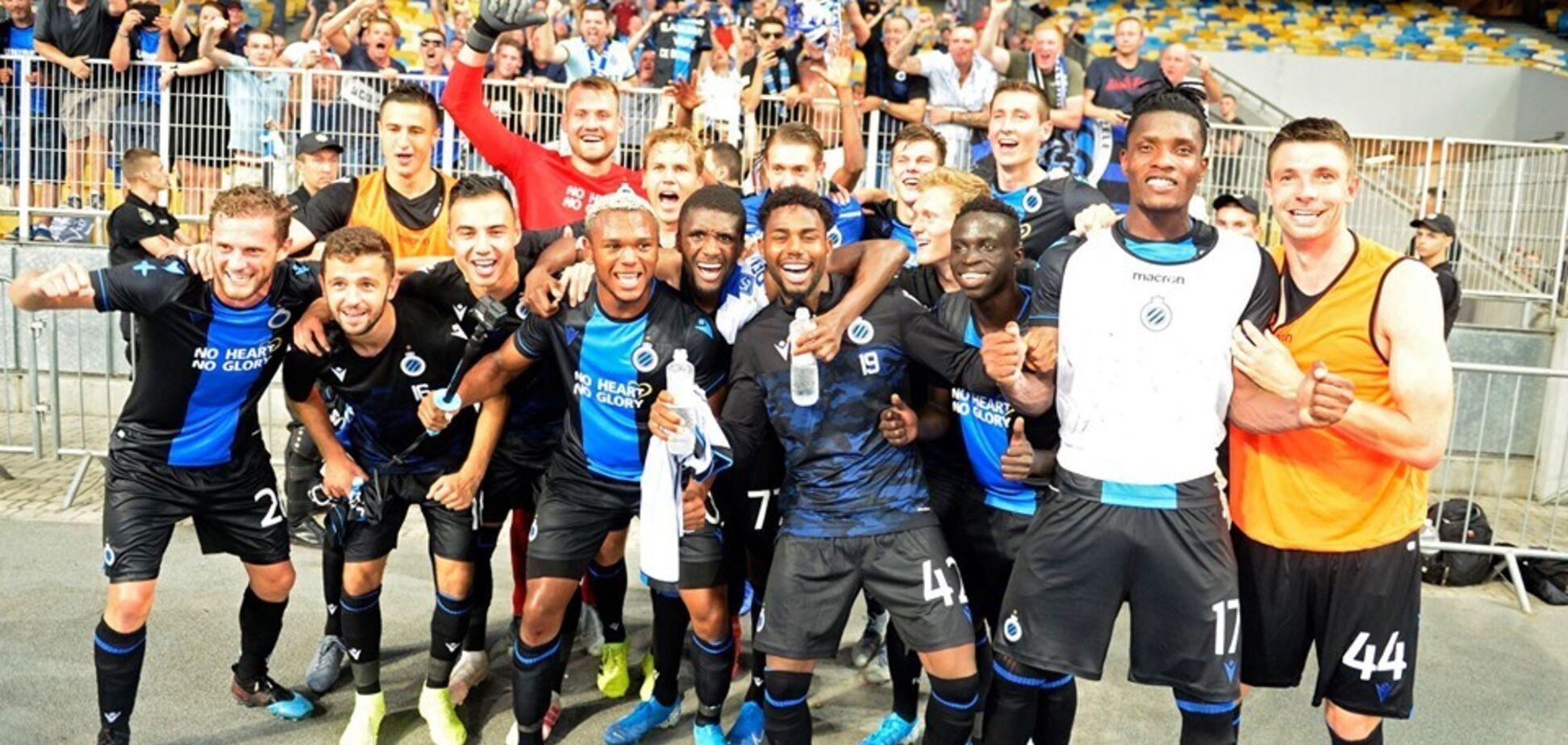 'Киев остановился': бельгийские СМИ оценили игру 'Динамо' с 'Брюгге'