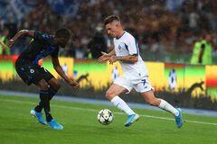 'На нервах': лідер 'Динамо' проігнорував Хацкевича після матчу з 'Брюгге'