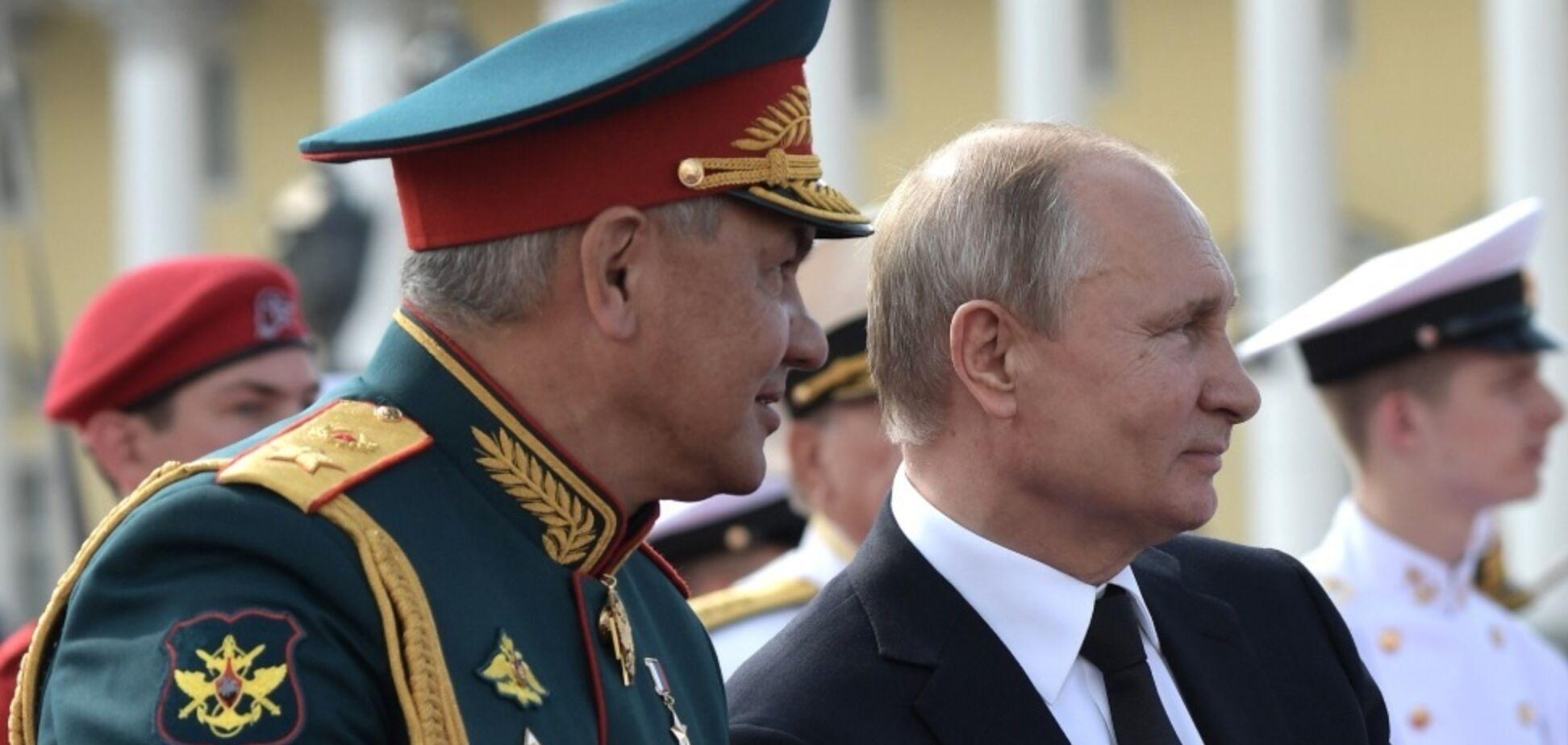 Путин начнет наступление с Киева