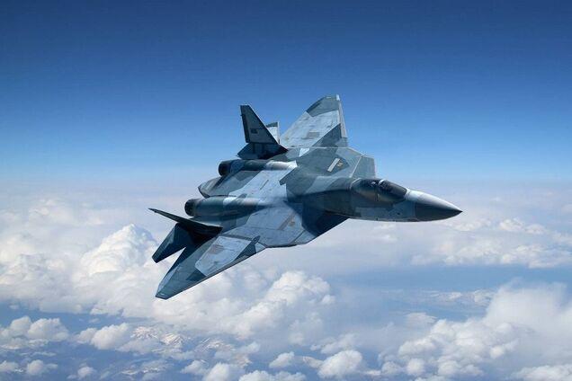 Самолет Су-57, иллюстрация