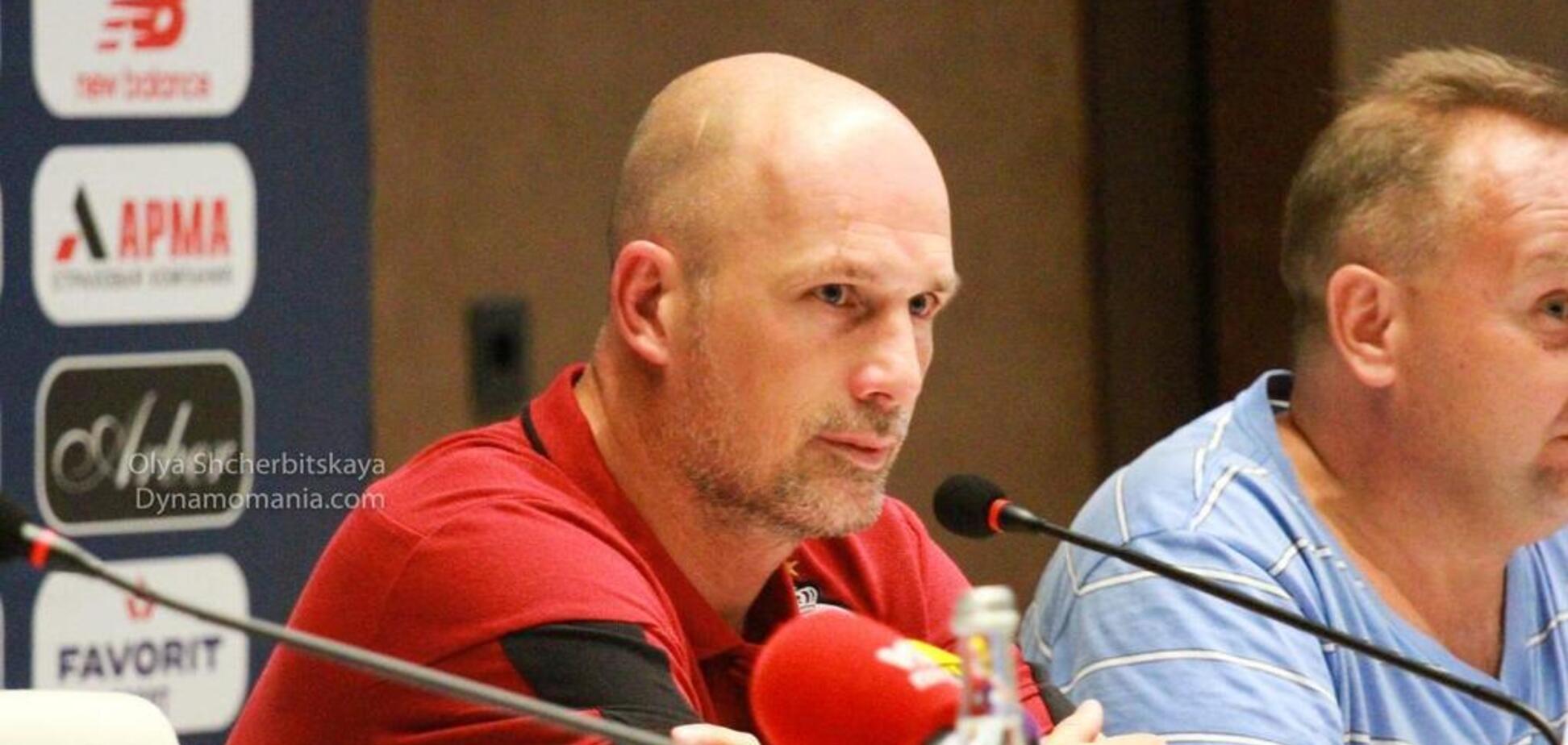 Главный тренер 'Брюгге' сообщил о разговоре с Суркисом
