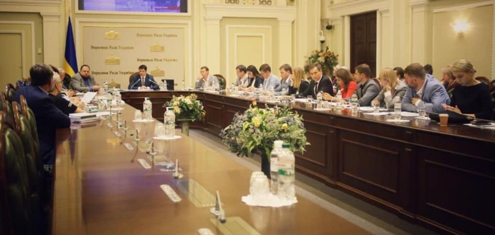 У Раді урізали кількість комітетів: 'Слуга народу' опублікувала повний список