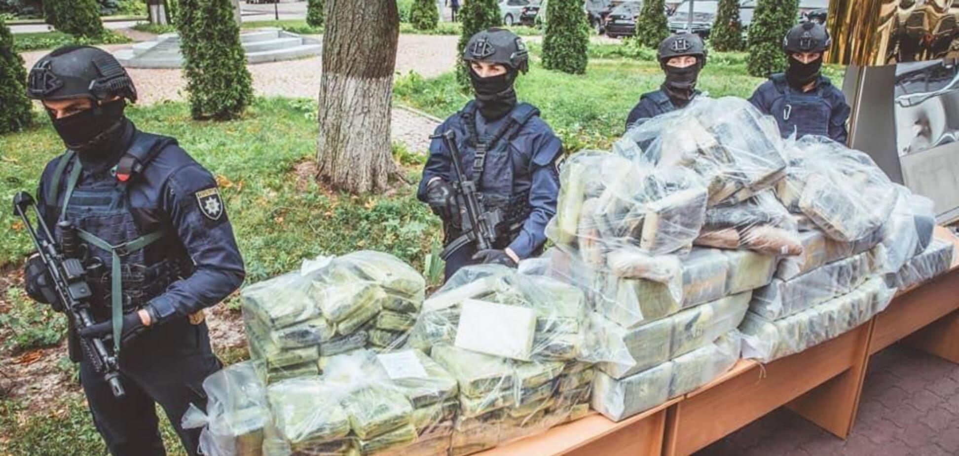 Вилучені 400 кг кокаїну