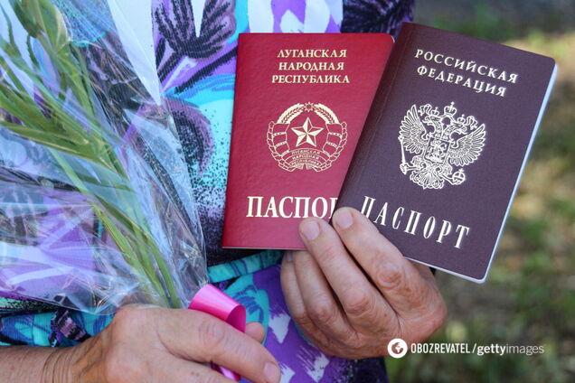 Паспорти Росії на Донбасі