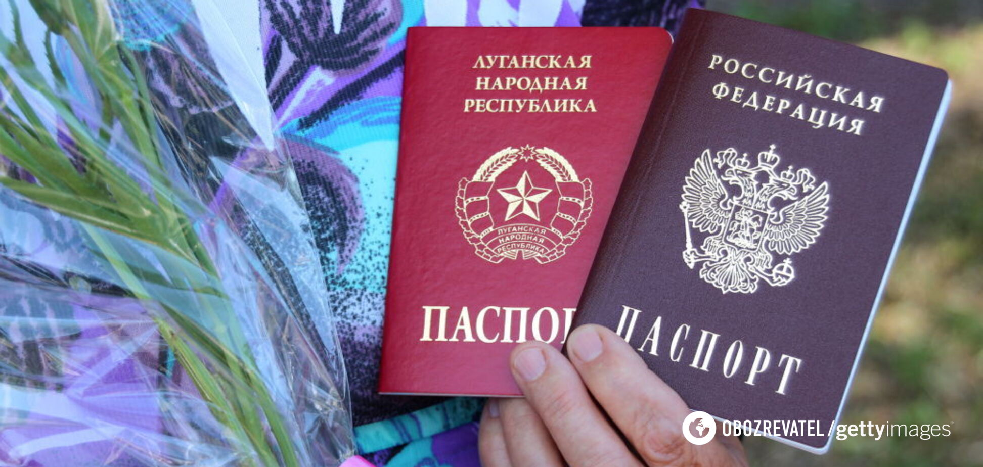 Путінські паспорти на Донбасі: у 'ДНР' відзвітували про нових росіян