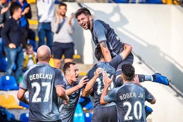 Роман Дебелко стал героем матча Лиги Европы