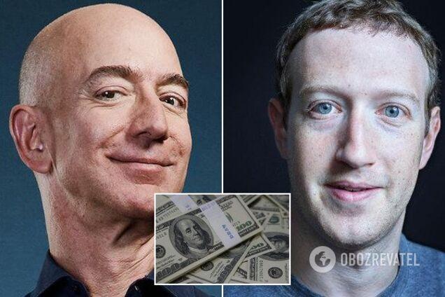 Найбагатші люди планети втратили $18 млрд