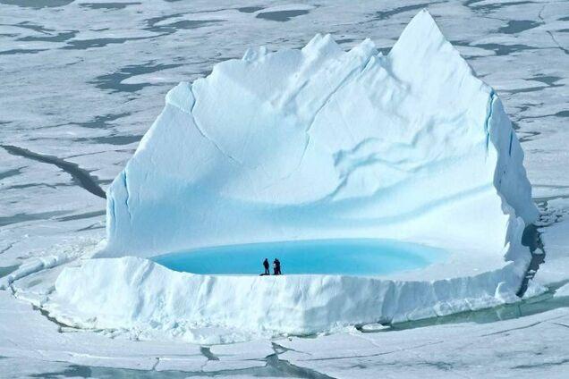 Ілюстрація. Північний полюс