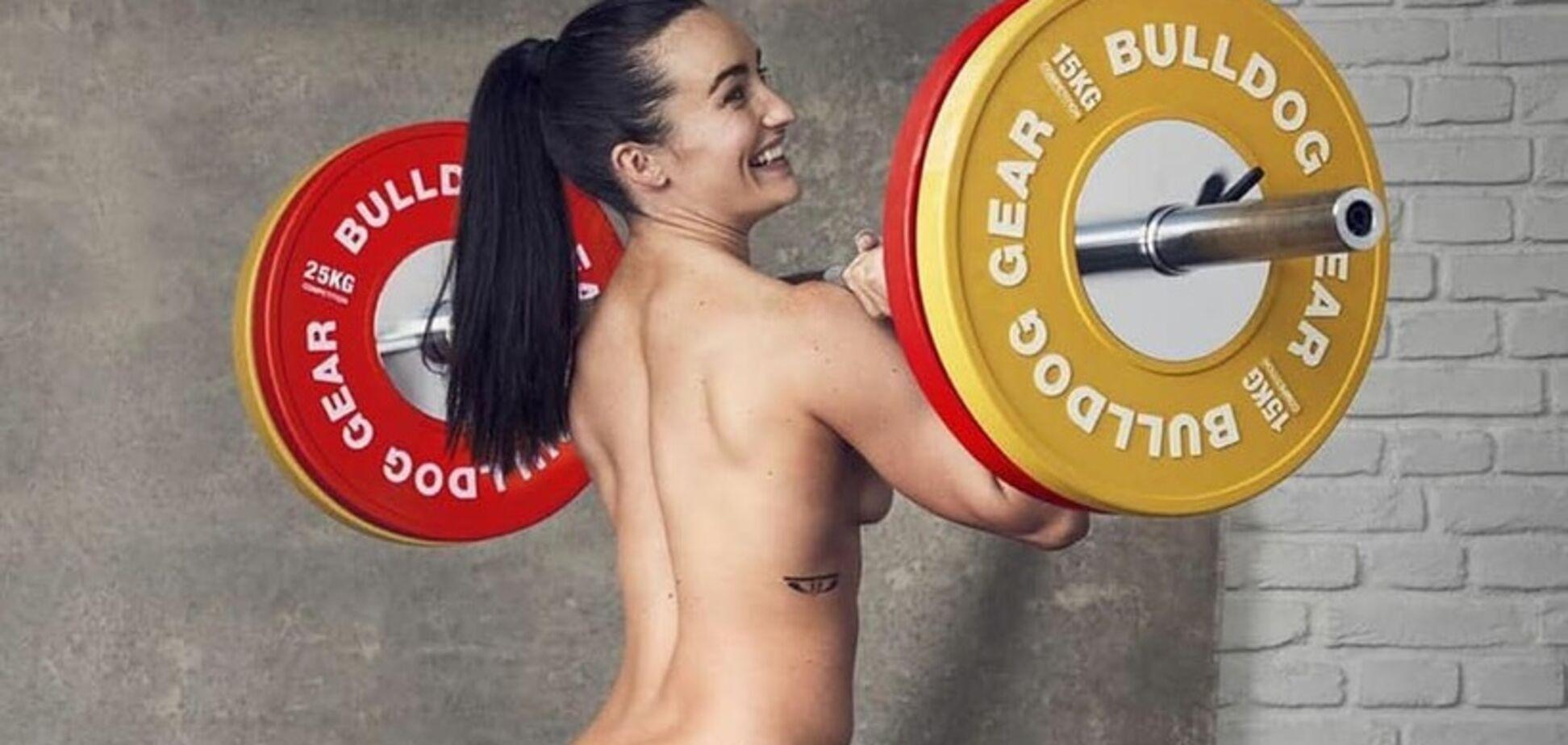 Відому спортсменку зняли на тренуванні повністю голою