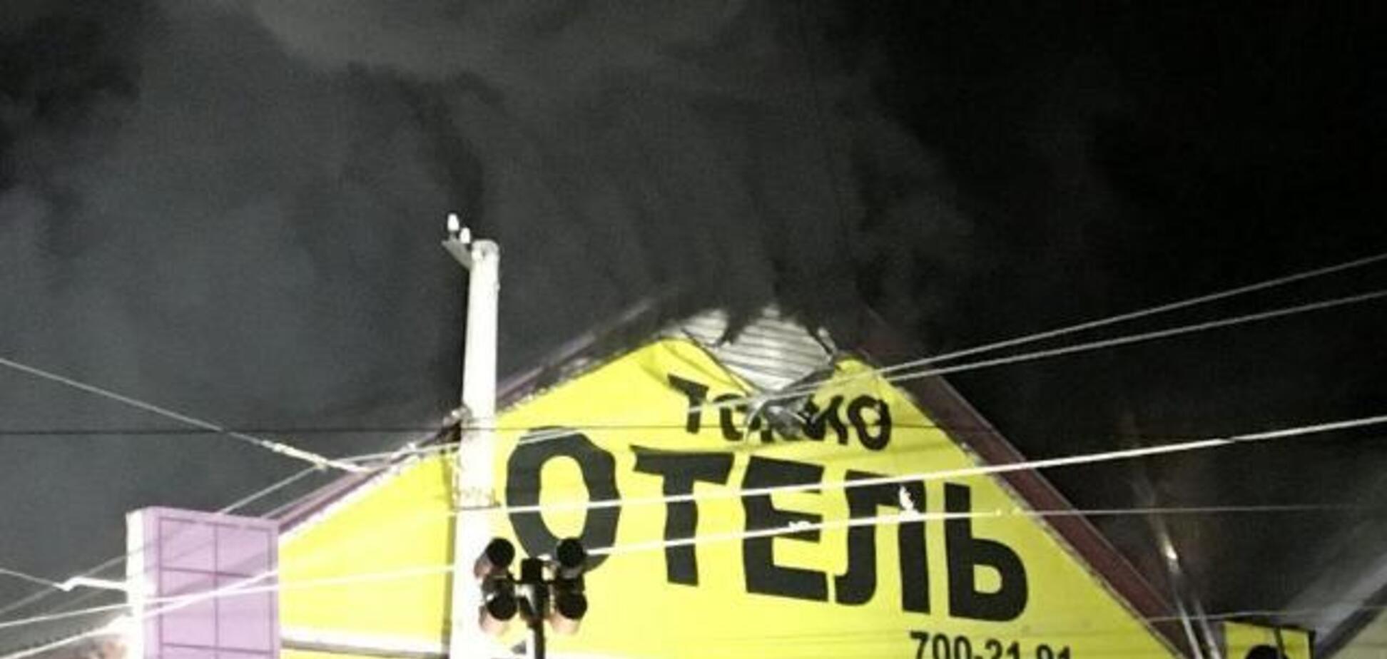 Моторошна пожежа в готелі Одеси: з'явилося лякаюче фото зсередини