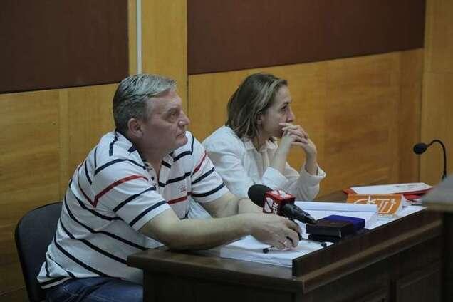 Юрій Гримчак і Тетяна Матяш
