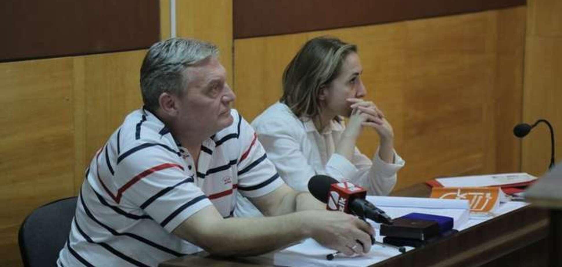 Юрий Грымчак и Татьяна Матяш