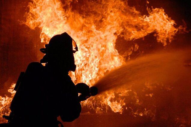 Ілюстрація. Пожежа