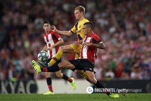 'Барселона' на последней минуте пропустила фантастический гол 'ножницами' и проиграла в Ла Лиге