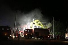 Велкам в номер без окна: горевший 'Токио Стар' оскандалился кощунственной акцией