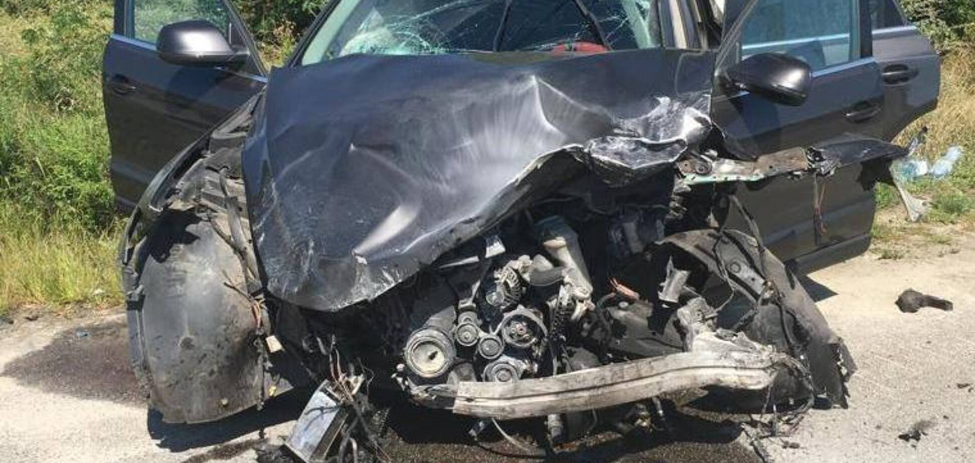 Під Києвом жінка на Audi влаштувала смертельну ДТП