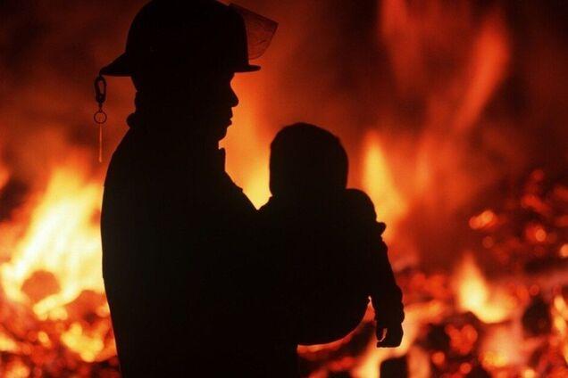 У Дніпрі на пожежі постраждала дитина
