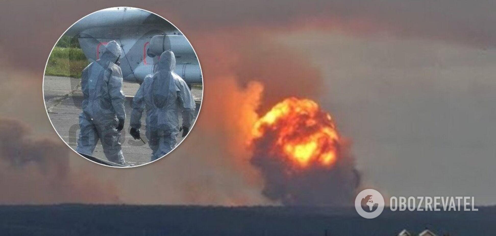 Взрывы под Архангельском