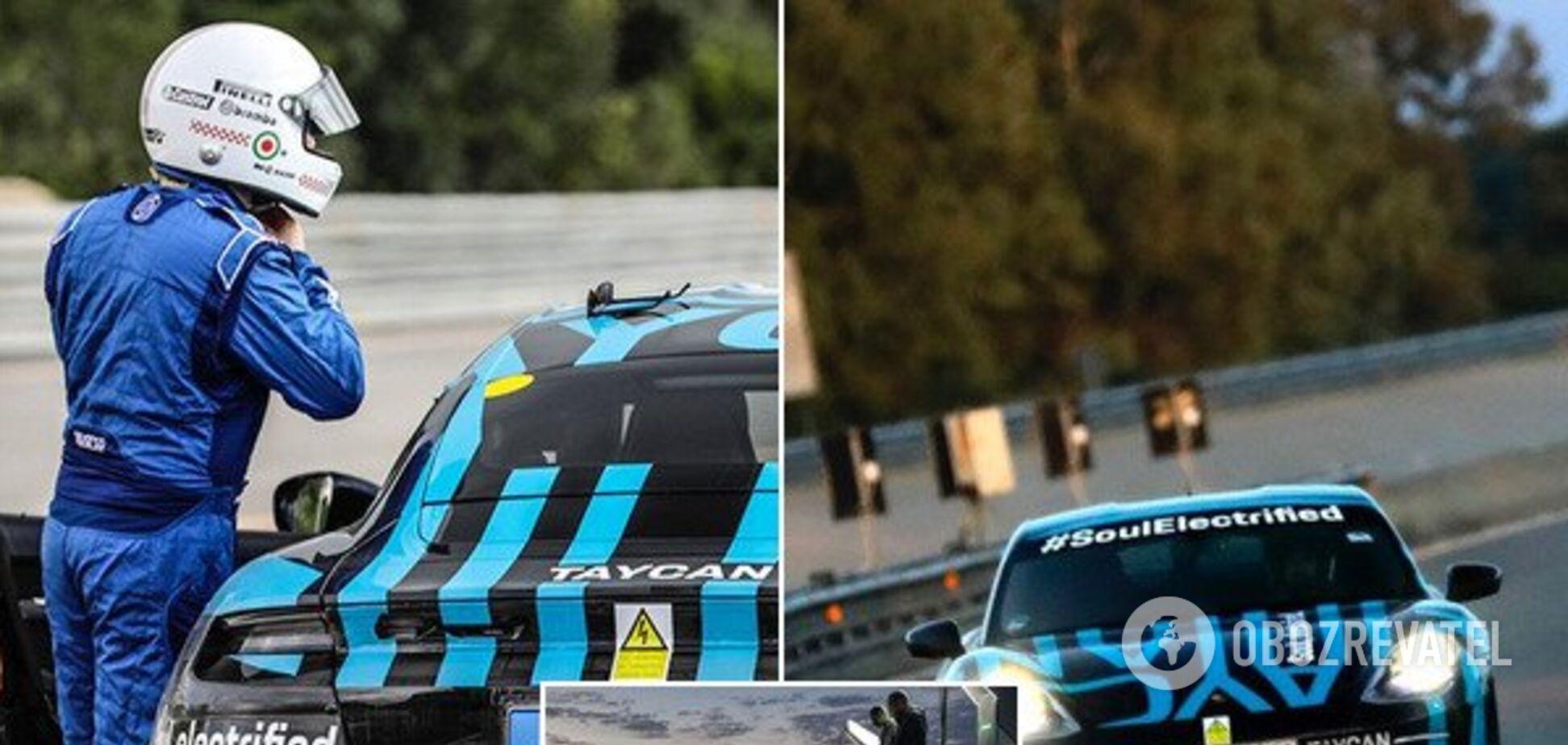 Первый электромобиль Porsche совершил тестовый заезд: появились зрелищные фото