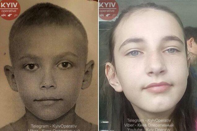 На Київщині зникли дві дитини