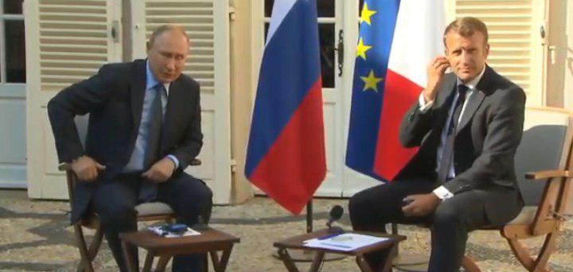 'Велика держава!' Макрон раптово 'прогнувся' під Путіна у Франції