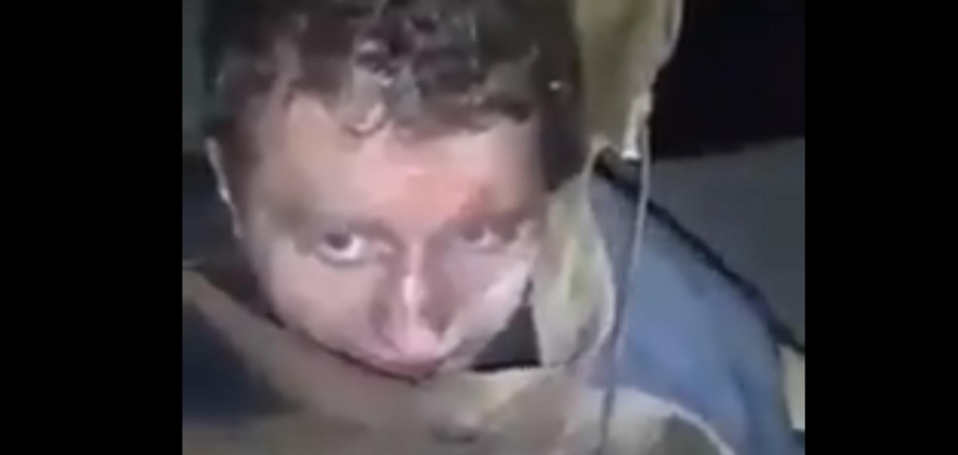 У мережі спливло відео з білоруським найманцем на Донбасі