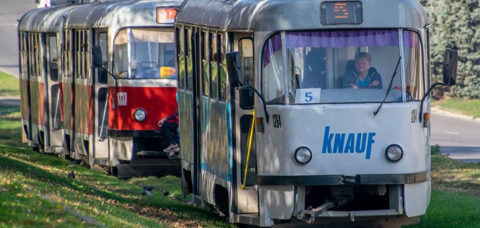 Электротранспорт Днепра. Источник: Информатор