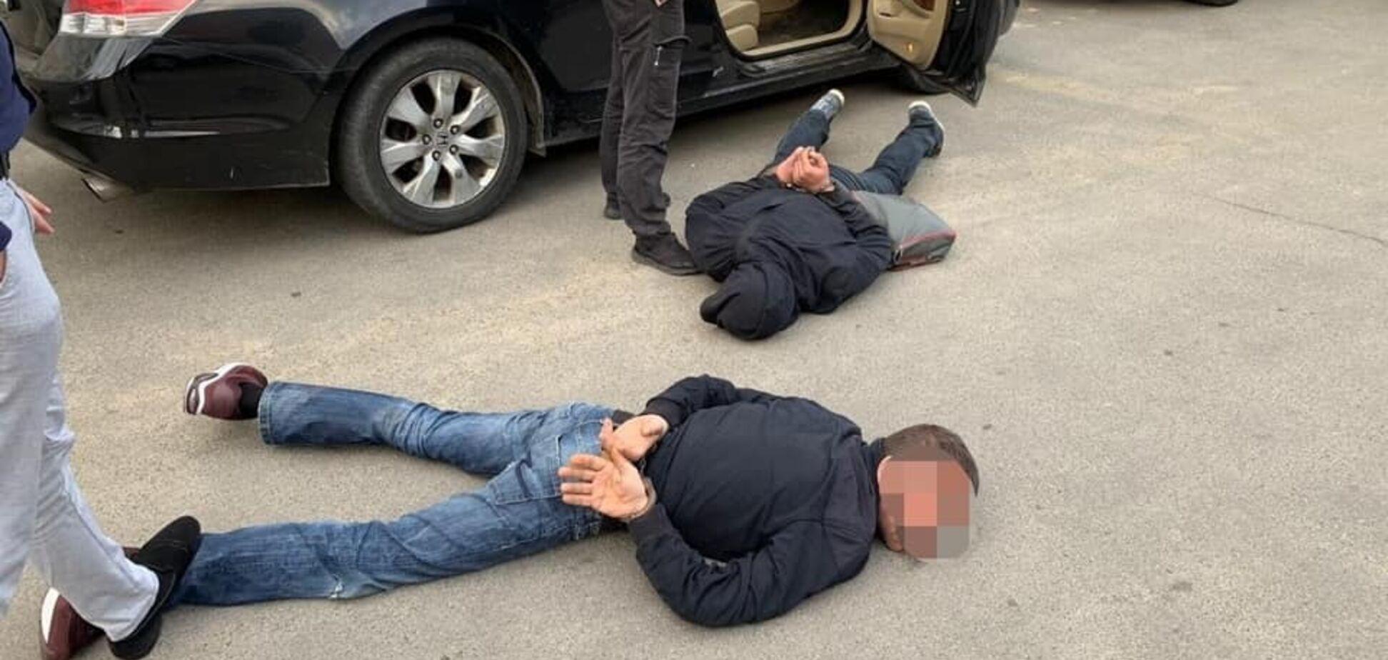 'Джентльмены неудачи!' В Киевской области накрыли грабителей терминала с деньгами