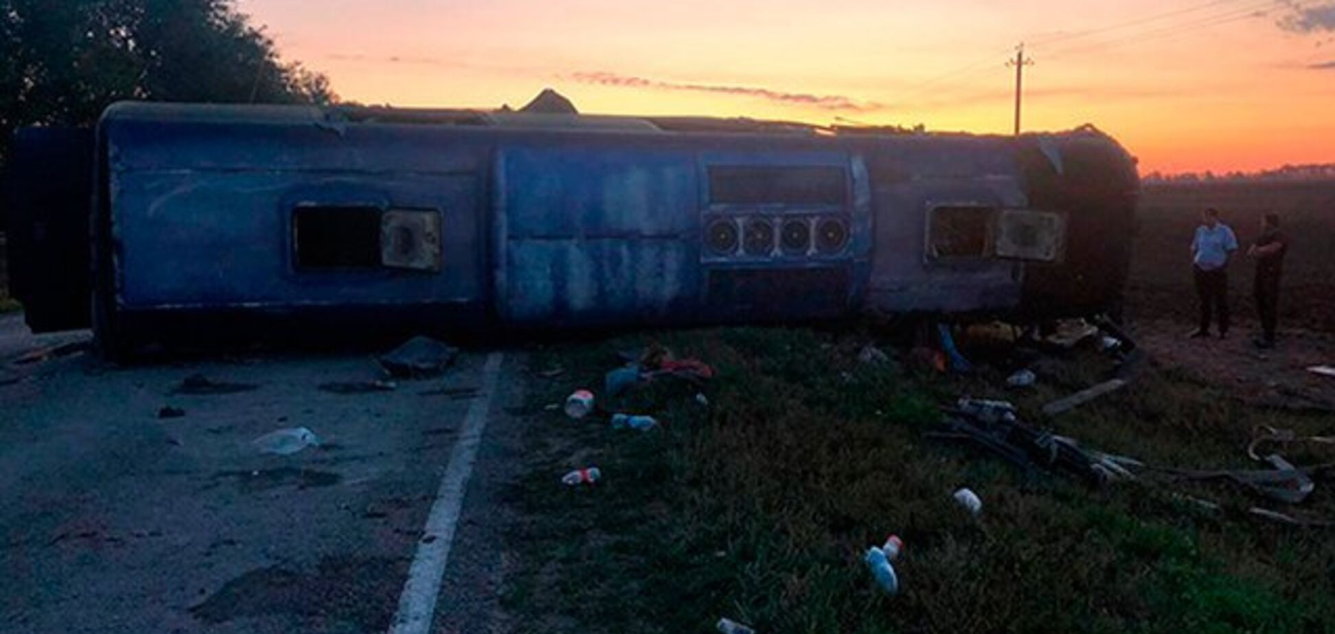 Автобус у м'ясо: в Росії трапилася кривава ДТП. 5 жертв, 18 постраждалих