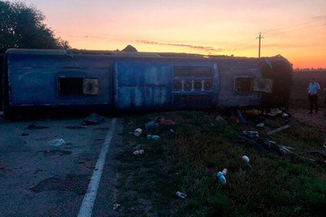 Автобус в мясо: в России произошло кровавое ДТП. 5 жертв, 18 пострадавших