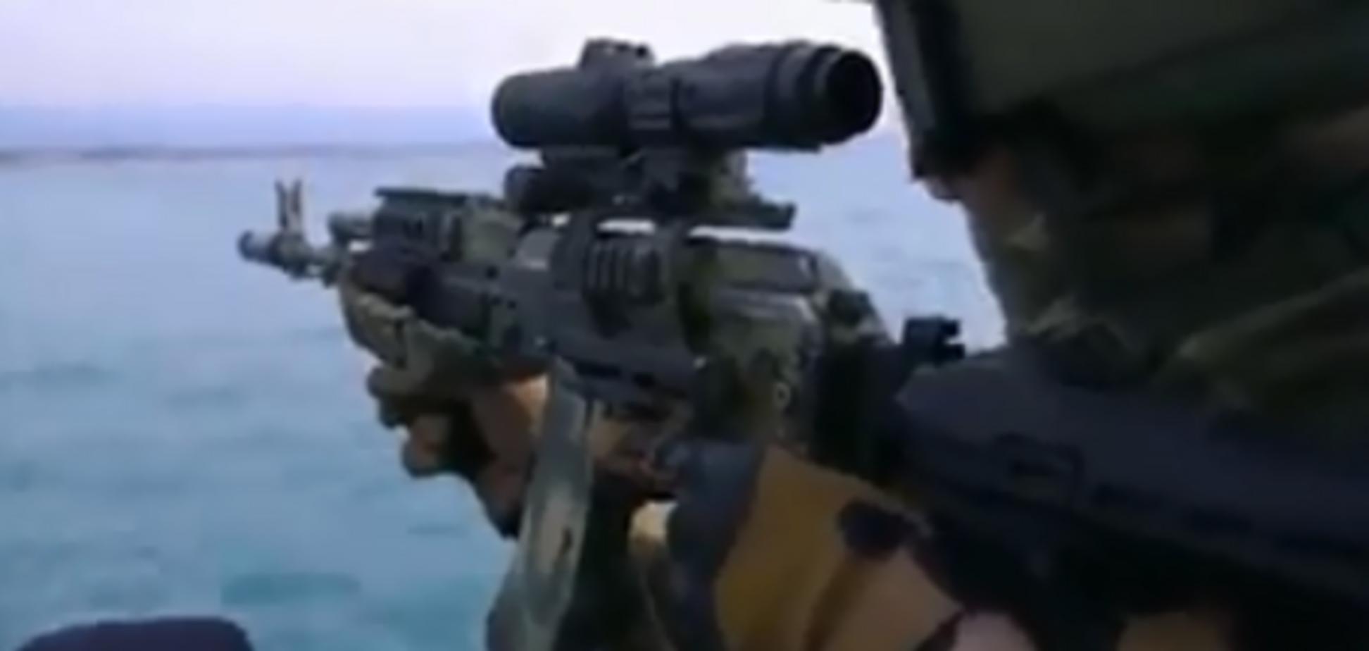Made in Ukraine: пропагандисти зганьбилися відео з українськими вояками в морському спецназі РФ