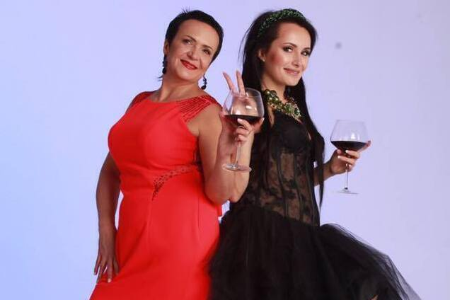 Надія Головач із донькою Юлією