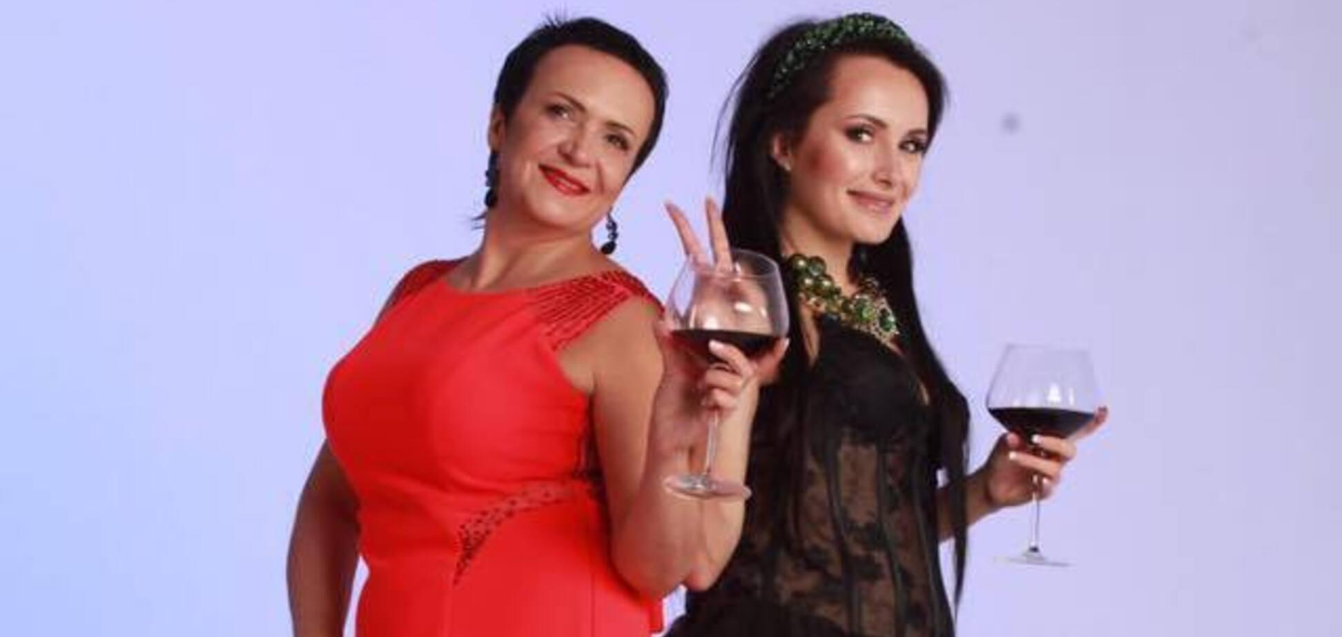 Надія Головач з донькою Юлією