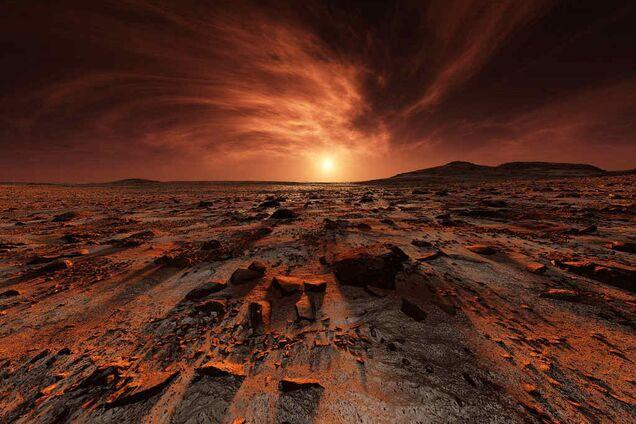 Марсіанський пейзаж