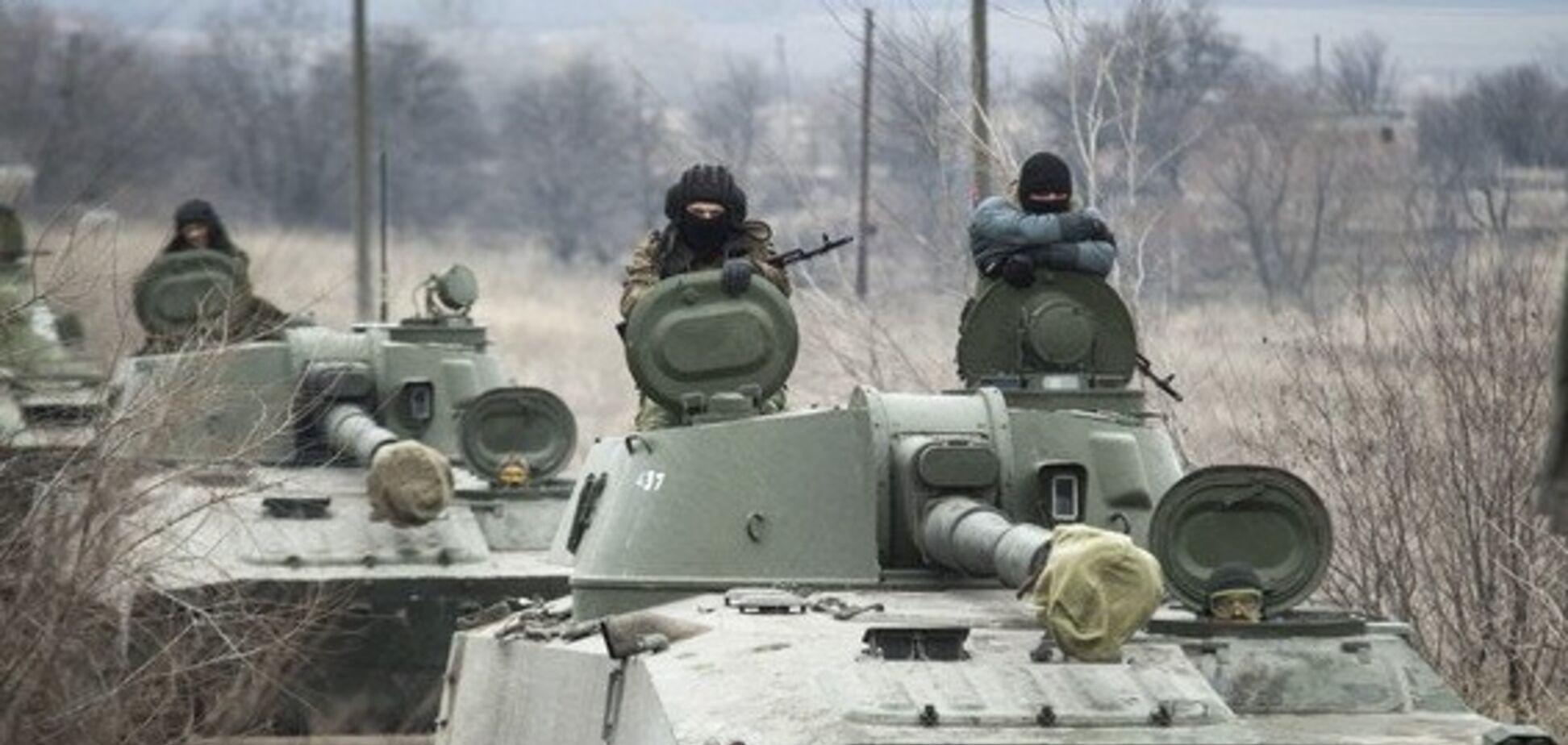 На Донбасі помітили скупчення техніки