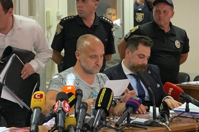 Вадим Чорний у суді