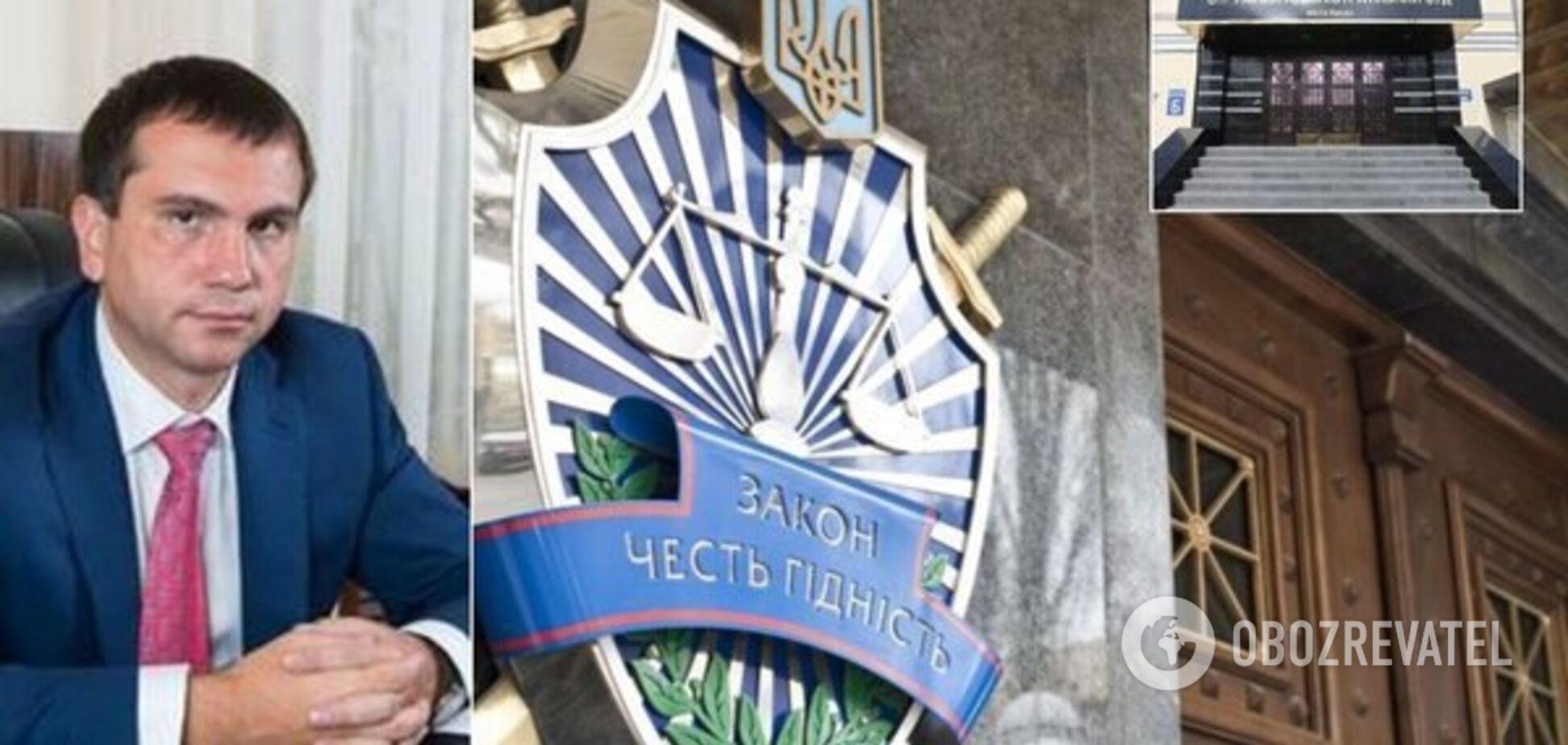 Голова Окружного адмінсуду Києва Вовк раптово подав у відставку