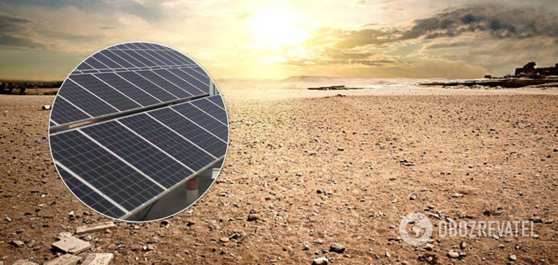Від глобального потепління постраждають навіть сонячні панелі