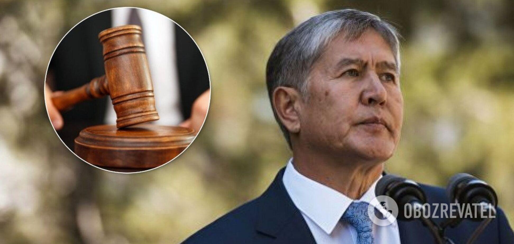 Экс-президент Кыргызстана Алмазбек Атамбаев