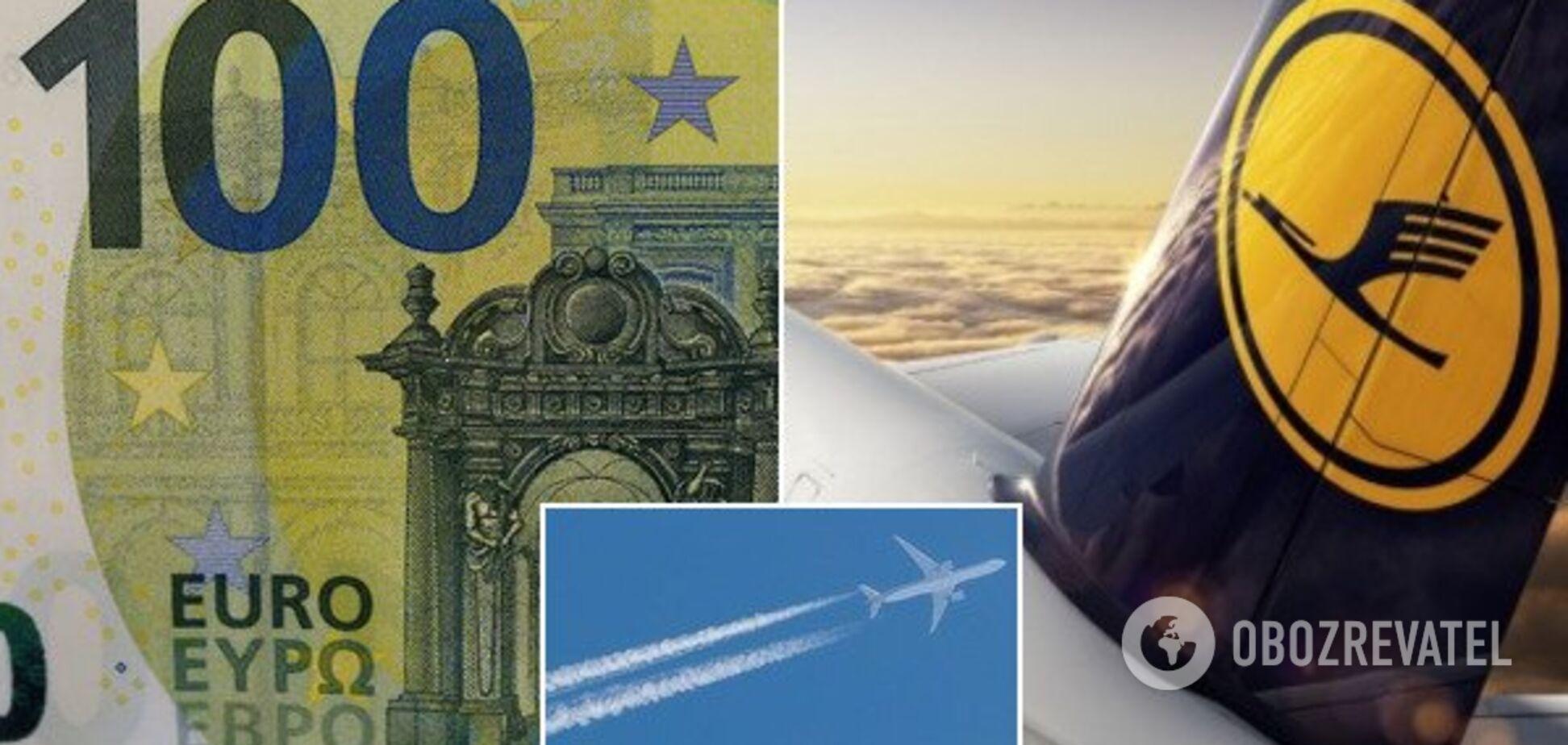 Заплатят сами клиенты: Lufthansa придумала новшество ради спасения планеты