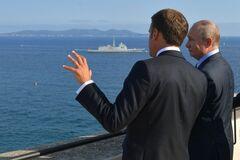 'Я разочарован': дипломат объяснил, что не так со встречей Путин-Макрон