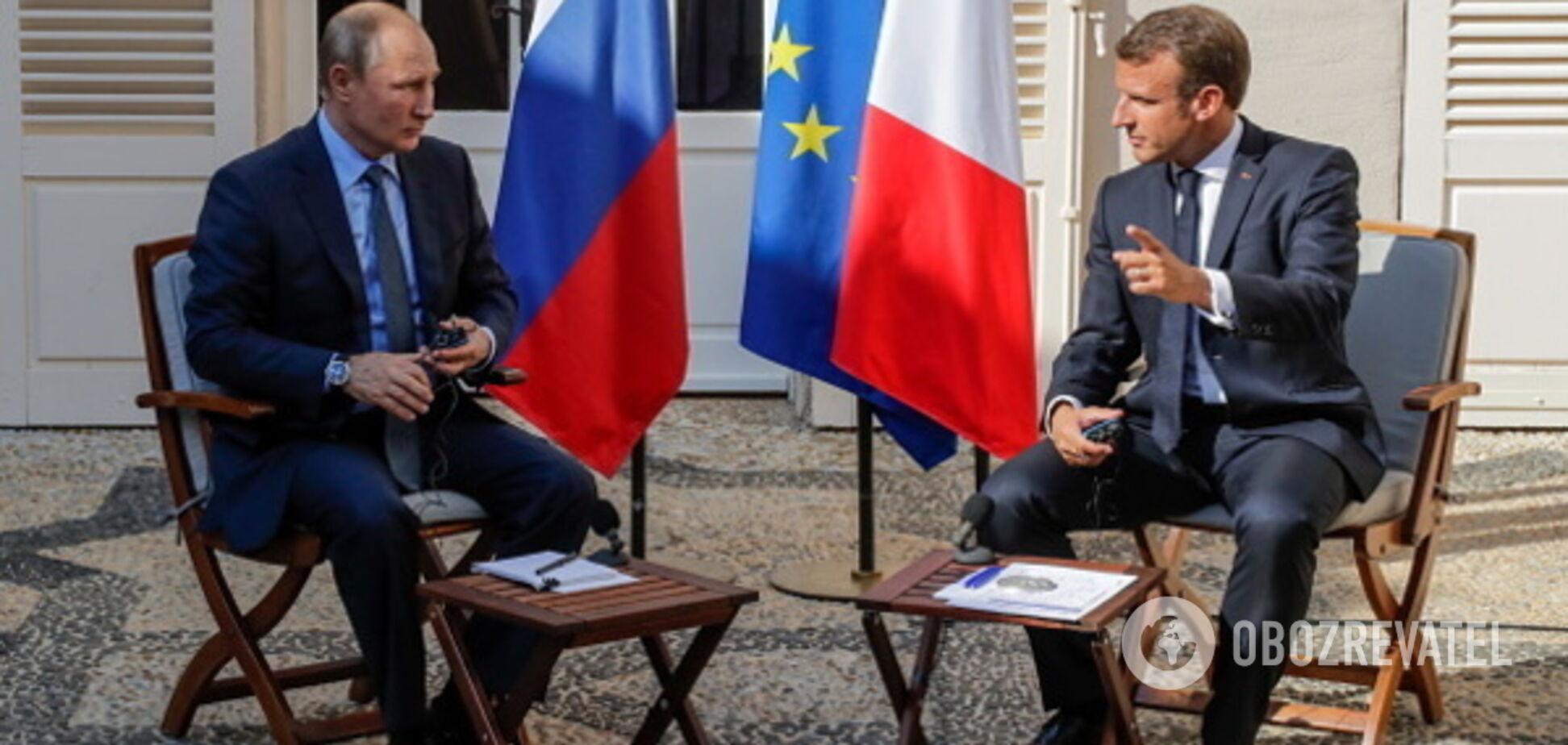 Спочатку мир в Україні! Макрон висунув Путіну жорстку умову